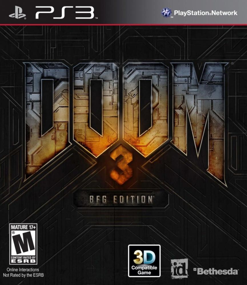Bethesda Doom 3: BFG Edition, PS3 (ENG)