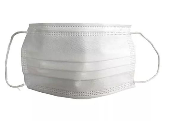 Biomic´s Cubrebocas Termosellado, 3 Capas, Blanco, 50 Piezas