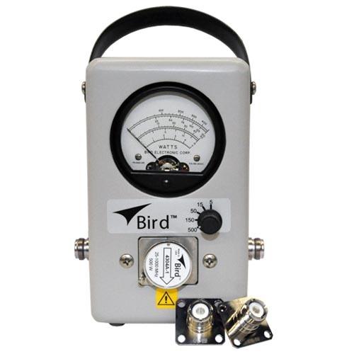 Bird Technologies Wattmetro de Propósito General 4304A, 5 - 500W, Gris