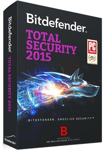 Bitdefender Total Security 2015, 2 Usuarios, 2 Años, Windows