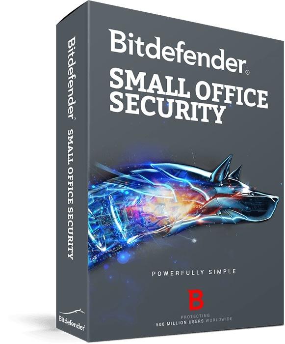 Bitdefender Small Office Security, 10 Usuarios + 1 Servidor, Windows/Mac