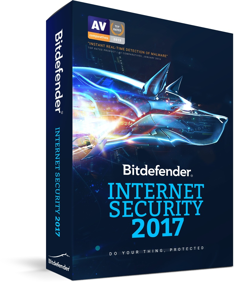 Bitdefender Internet Security 2017, 10 Usuarios, 2 Años, Windows