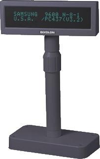 Bixolon Pantalla POS Pole BCD-1000, Negro
