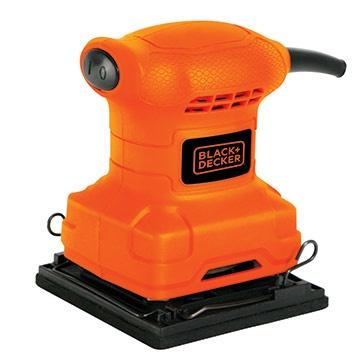 Black & Decker Lijadora Eléctrica BS200, Alámbrico, 200W, Naranja