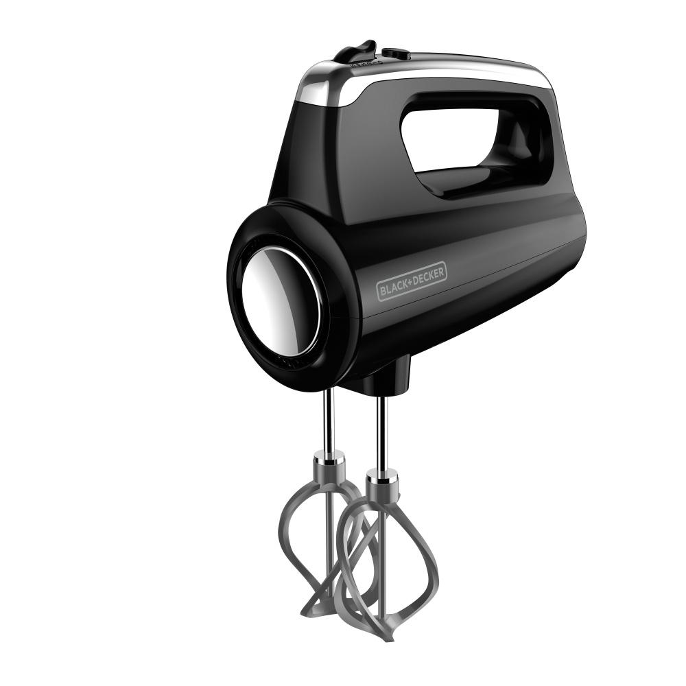 Black & Decker Batidora de Mano HELIX, 250W, 5 Velocidades, Negro