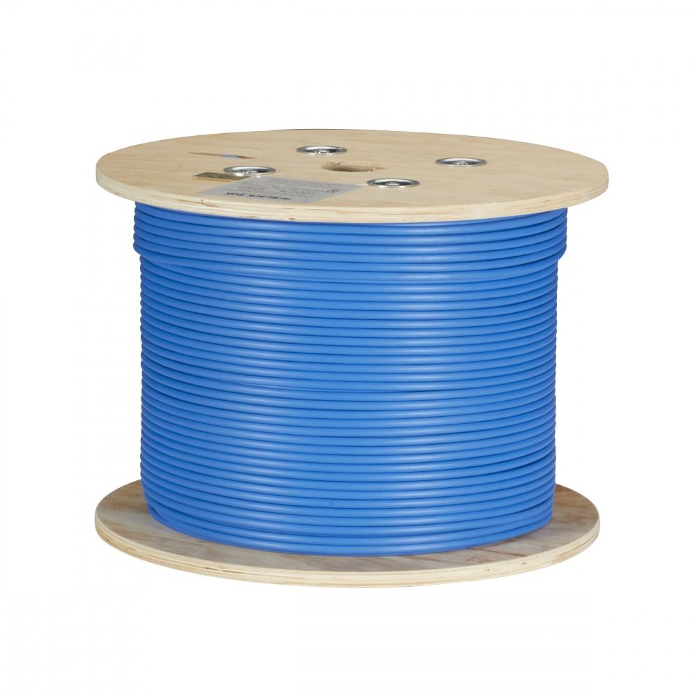 Black Box Bobina de Cable Cat6a UTP, 305 Metros, Azul
