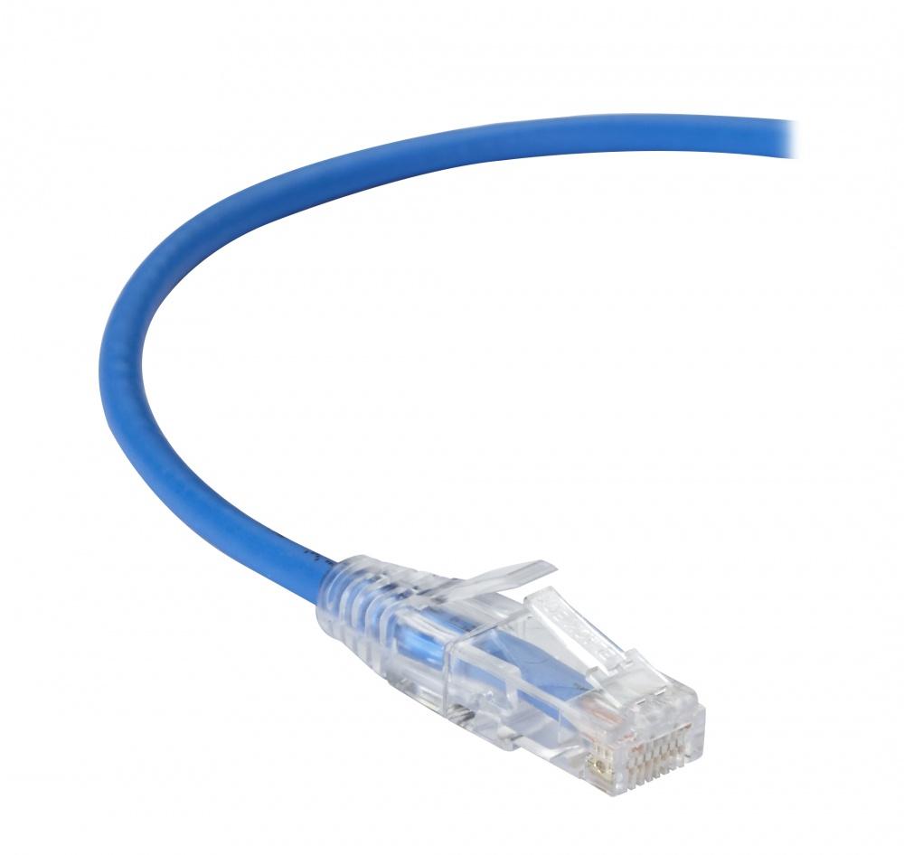 Black Box Cable Patch Cat6a UTP sin Enganches RJ-45 Macho - RJ-45 Macho, 3 Metros, Azul
