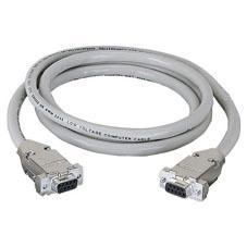Black Box Cable Serial DB9 Hembra - DB9 Hembra, 3 Metros, Beige