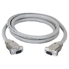 Black Box Cable Serial DB9 Hembra - DB9 Hembra, 15.2 Metros, Beige