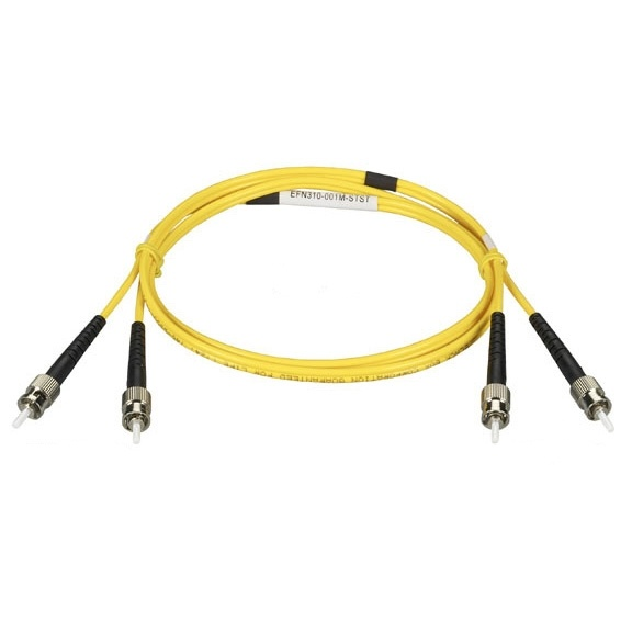 Black Box Cable Fibra Óptica Dúplex LC Macho - SC Macho, 15 Metros, Amarillo