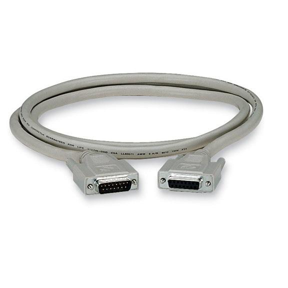 Black Box Cable VGA DB15 Macho - VGA DB15 Macho, 3 Metros, Blanco