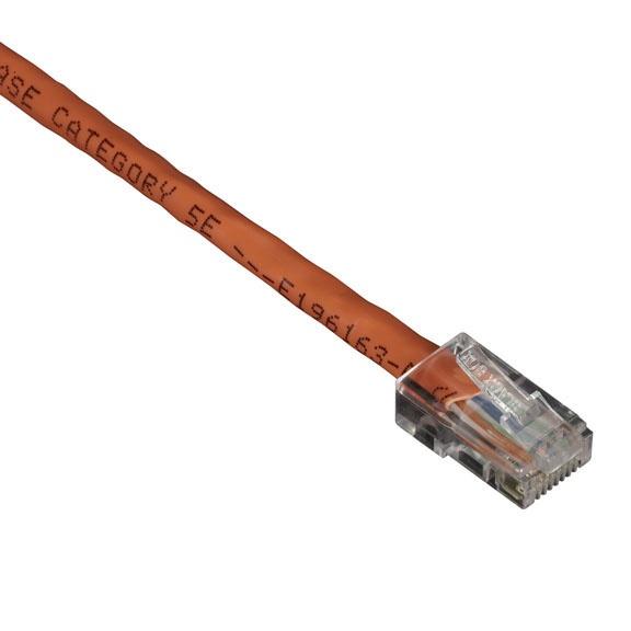 Black Box Cable Patch Cat5e UTP sin Bota RJ-45 Macho - RJ-45 Macho, 1.5 Metros, Naranja