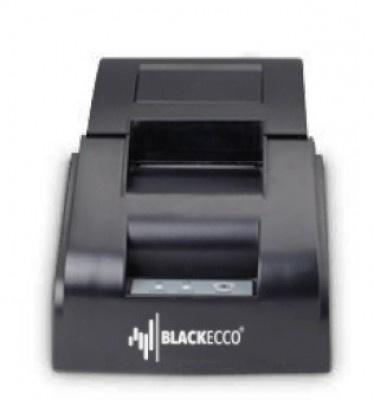 Black Ecco BE90P, Impresora de Tickets, Térmica Directa, Alámbrico, Serial, Negro