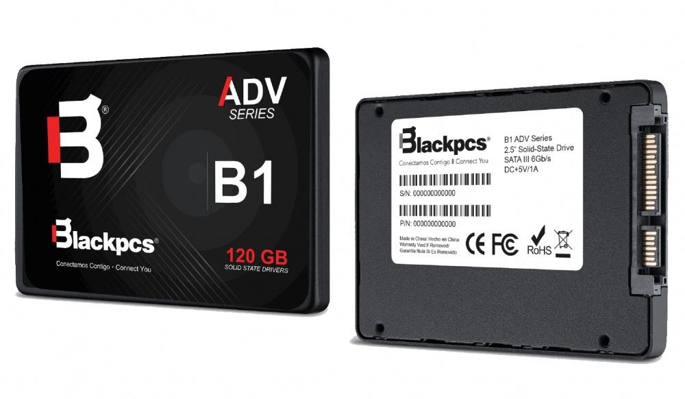 "SSD Blackpcs AS2O1, 120GB, SATA III, 2.5"", 7mm"