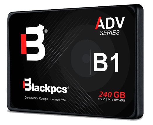 SSD Blackpcs AS2O1, 240GB, SATA III, 2.5'', 7mm