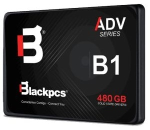 SSD Blackpcs AS2O1, 480GB, SATA III, 2.5'', 7mm