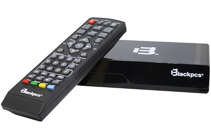 Blackpcs Reproductor Multimedia E020PLAST-BL, HDMI, USB 2.0