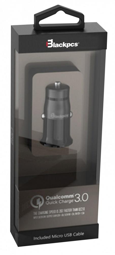 Blackpcs Cargador para Auto Plug in, 20V, 1 Puerto USB, Negro