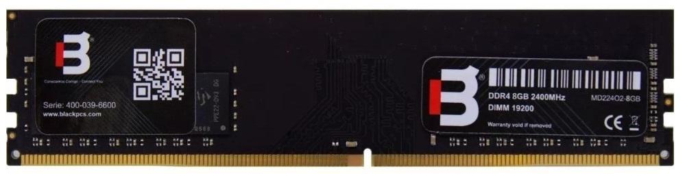 Memoria RAM Blackpcs DDR4, 2400MHz, 4GB, Non-ECC, CL15