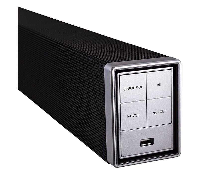 Blux Barra de Sonido SUB29-690, Bluetooth, Inalámbrico, 20W RMS, USB, HDMI, Negro