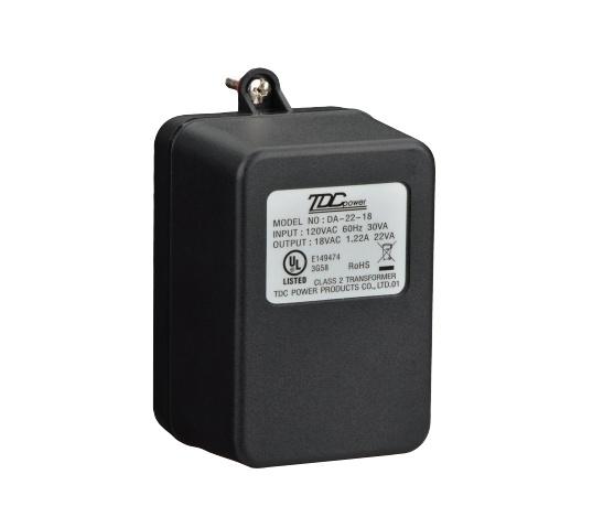 Bosch Transformador para Alarma CX4010, 110V, 18VAC, 22VA
