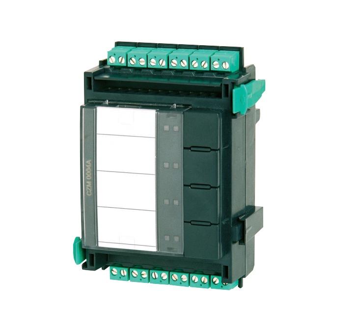 Bosch Módulo Convencional CZM 0004 A, 4 Zonas, 20V