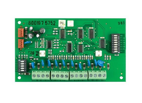Bosch Tarjeta de Expansión D8128D, 8 Entradas
