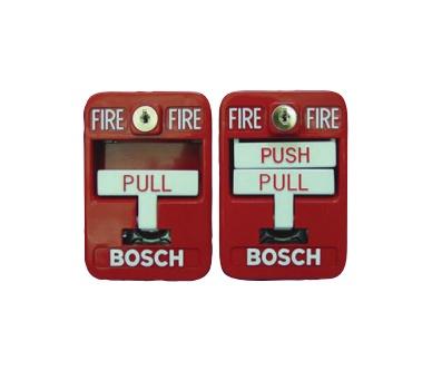 Bosch Estación Manual Contra Incendio FMM-7045-D, Alámbrico, Rojo