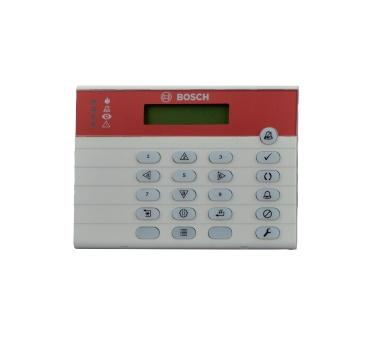 Bosch Teclado FMR-7033, Alámbrico, Rojo/Blanco