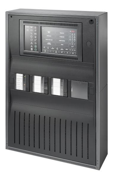 Bosch Panel de Alarma Contra Incendio Avenar 2000 con Licencia Estandar, 2.8A, 30V, Negro