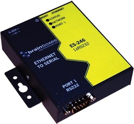 Brainboxes Adaptador de Red Serial, Alámbrico, 100Mbit/s, 1x RJ-45