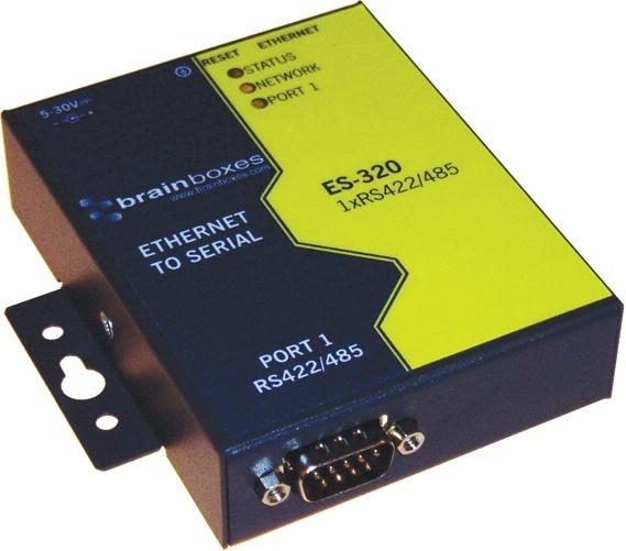 Brainboxes Adaptador Serial Macho - RJ-45 Hembra, Negro/Amarillo