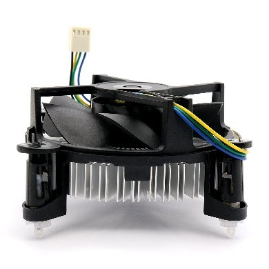 Disipador CPU BRobotix 952539-4, 95mm, 2600RPM, Negro