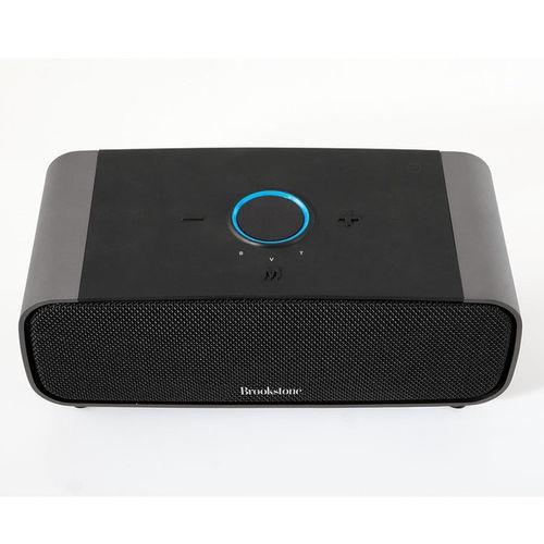 Brookstone Bocina Portátil Big Blue StudioB, Bluetooth, Inalámbrico, 2.1, 16W RMS, Negro
