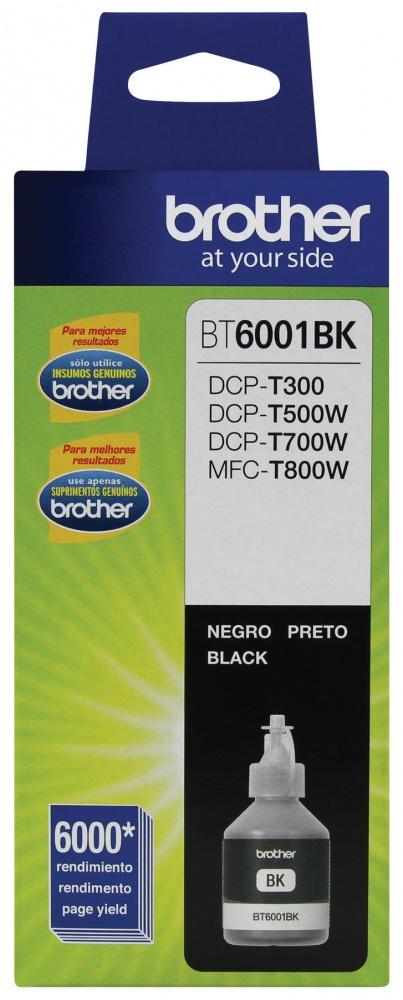 Tanque de Tinta Brother BT6001BK Negro, 6000 Páginas