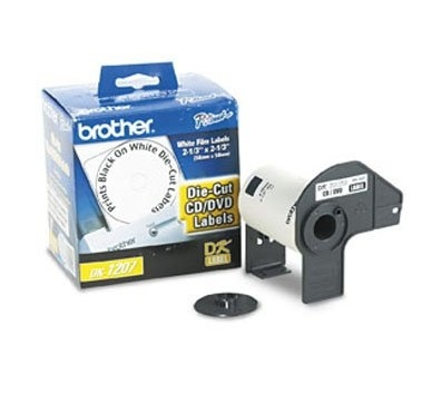 Brother Etiquetas Pre-Cortadas DK, CD/DVD, 100 Etiquetas