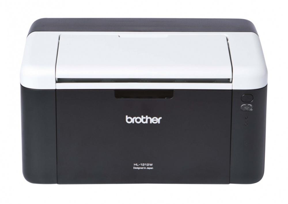 Brother HL-1212W, Blanco y Negro, Láser, Inalámbrico, Print