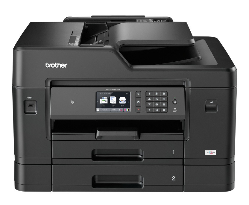 Multifuncional Brother MFC-J6930DW, Color, Inyección, Inalámbrico, Print/Scan/Copy/Fax