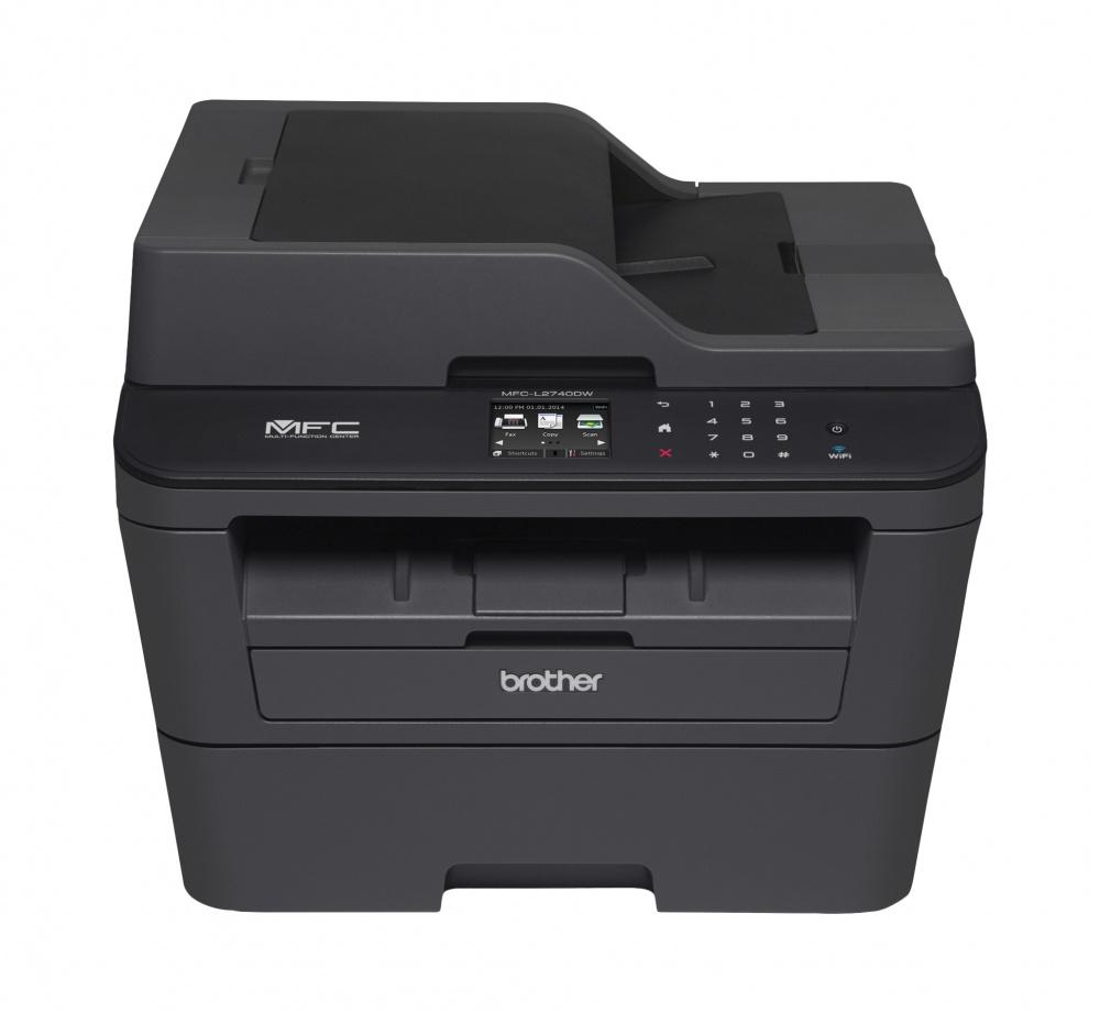 Multifuncional Brother MFC-L2740DW, Blanco y Negro, Láser, Inalámbrico, Print/Scan/Copy/Fax