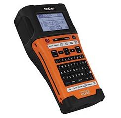 Brother Rotulador P-touch PT-E550W, Transferencia Térmica, 180 x 360 DPI, Negro/Naranja