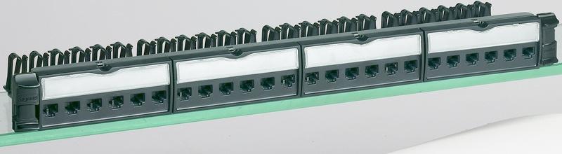 Bticino Panel de Parcheo Cat6, 24 Puertos