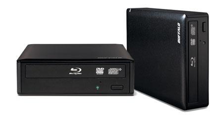 Buffalo BRXL-16U3 Quemador de Blu-Ray, 16x/12x, Externo, Negro