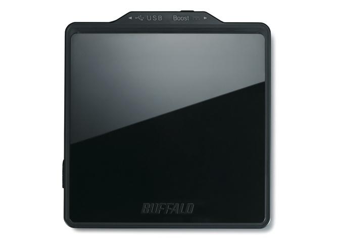 Buffalo Mediastation Quemador de Blu-ray Portátil, BD-R 4x / BD-RE 2x, Externo, USB 2.0, Negro