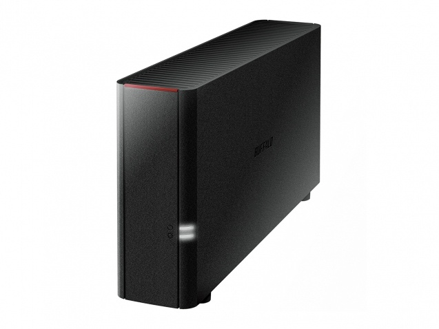 Buffalo LinkStation 210 NAS, 4TB (1 x 4TB), Marvell 800MHz, USB 2.0, Negro ― Incluye Discos