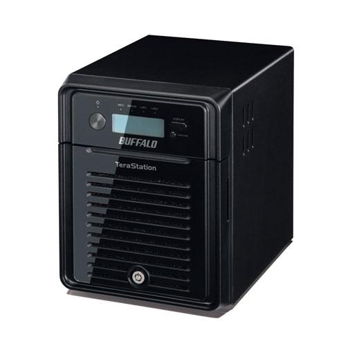 Buffalo TeraStation 3400, 8TB (4 x 2TB), max. 16TB, 2x USB 2.0, 2x USB 3.0, Negro ― Incluye Discos