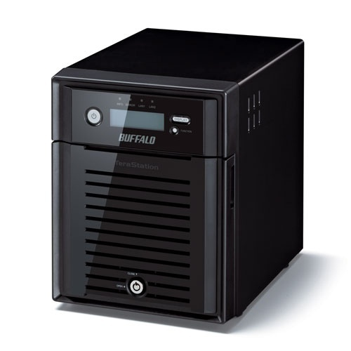 Buffalo TeraStation 5400RN NAS de 4 Bahías, 16TB (4 x 4TB), max. 24TB, Intel Atom D2550 1.86GHz, USB 2.0, Negro