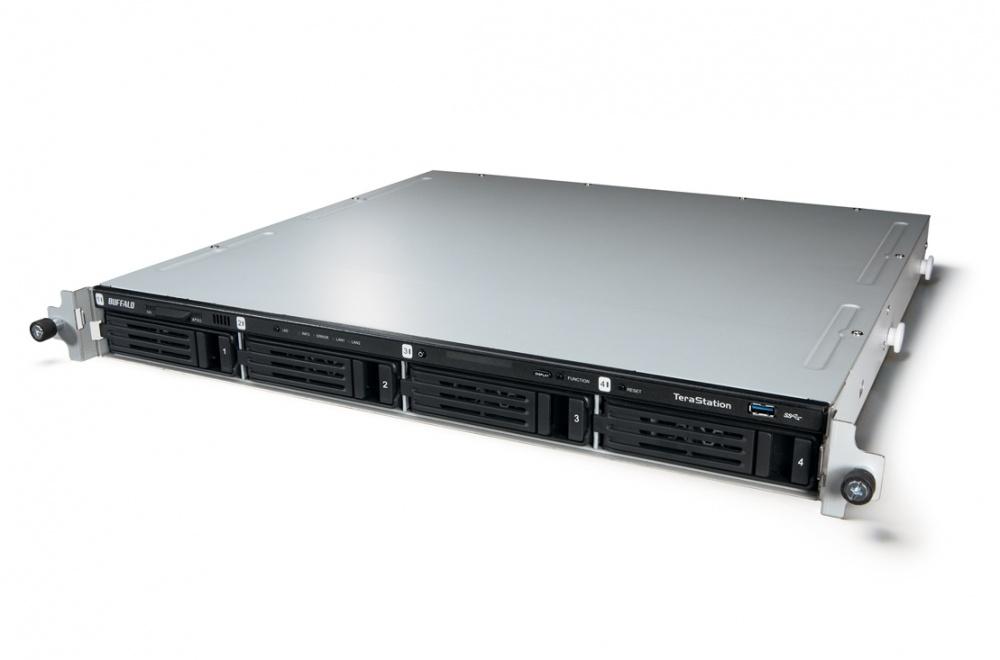 Buffalo TeraStation 5400r Rackmount 1U, 8TB (4x 2TB), 2x USB 2.0, 2x USB 3.0