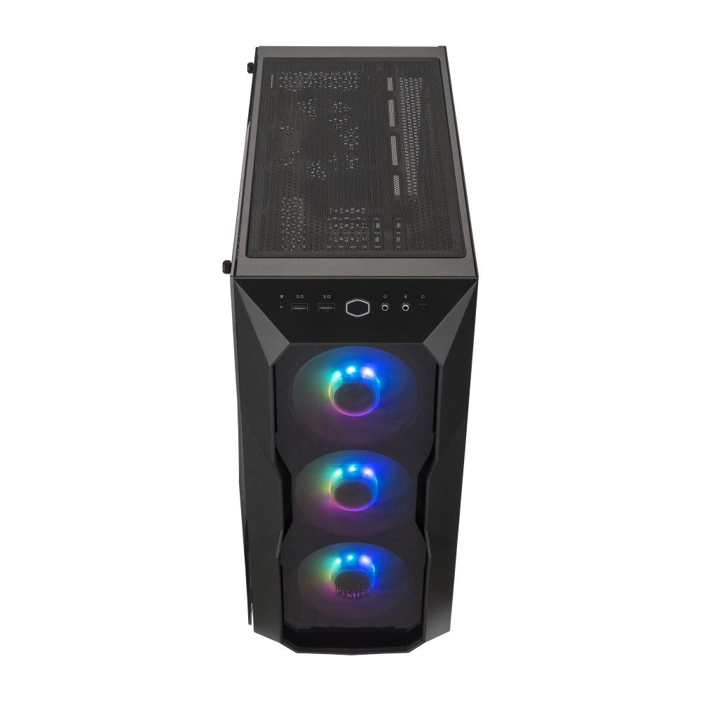 Gabinete Cooler Master MasterBox TD500 ARGB con Ventana, Midi-Tower, ATX/EATX/Micro ATX/Mini-ITX, USB 3.0, sin Fuente, Negro