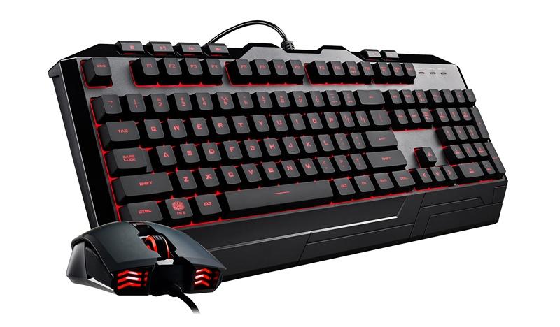 Kit Gamer de Teclado y Mouse Cooler Master Devastator 3 RGB, Alámbrico, USB, Negro (Español)