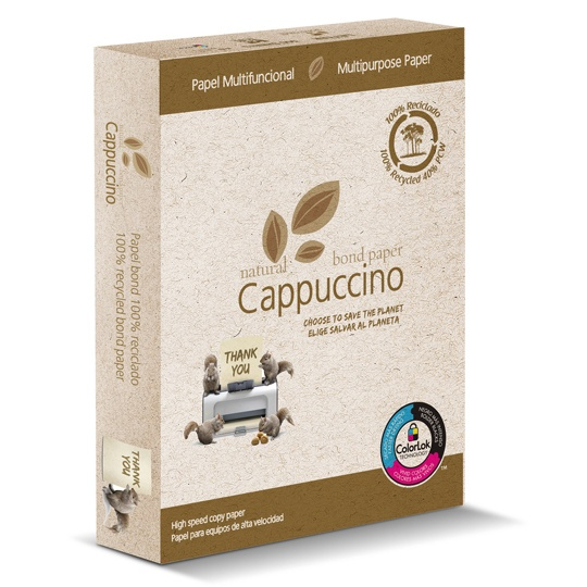 Copamex Papel Natural Bond 75 g/m², 500 Hojas de Tamaño Carta, Color Cappuccino